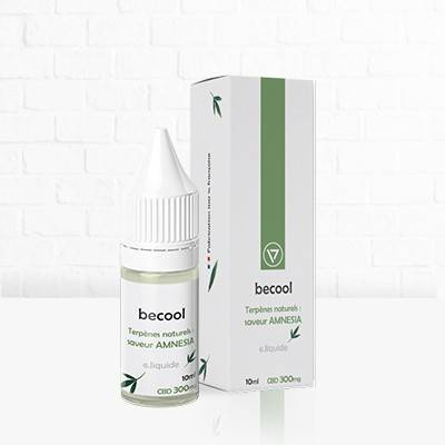 E-Liquide 300mg CBD Amnésia disponible chez cbd.fr