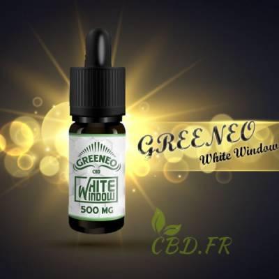 Greeneo white window e-liquide