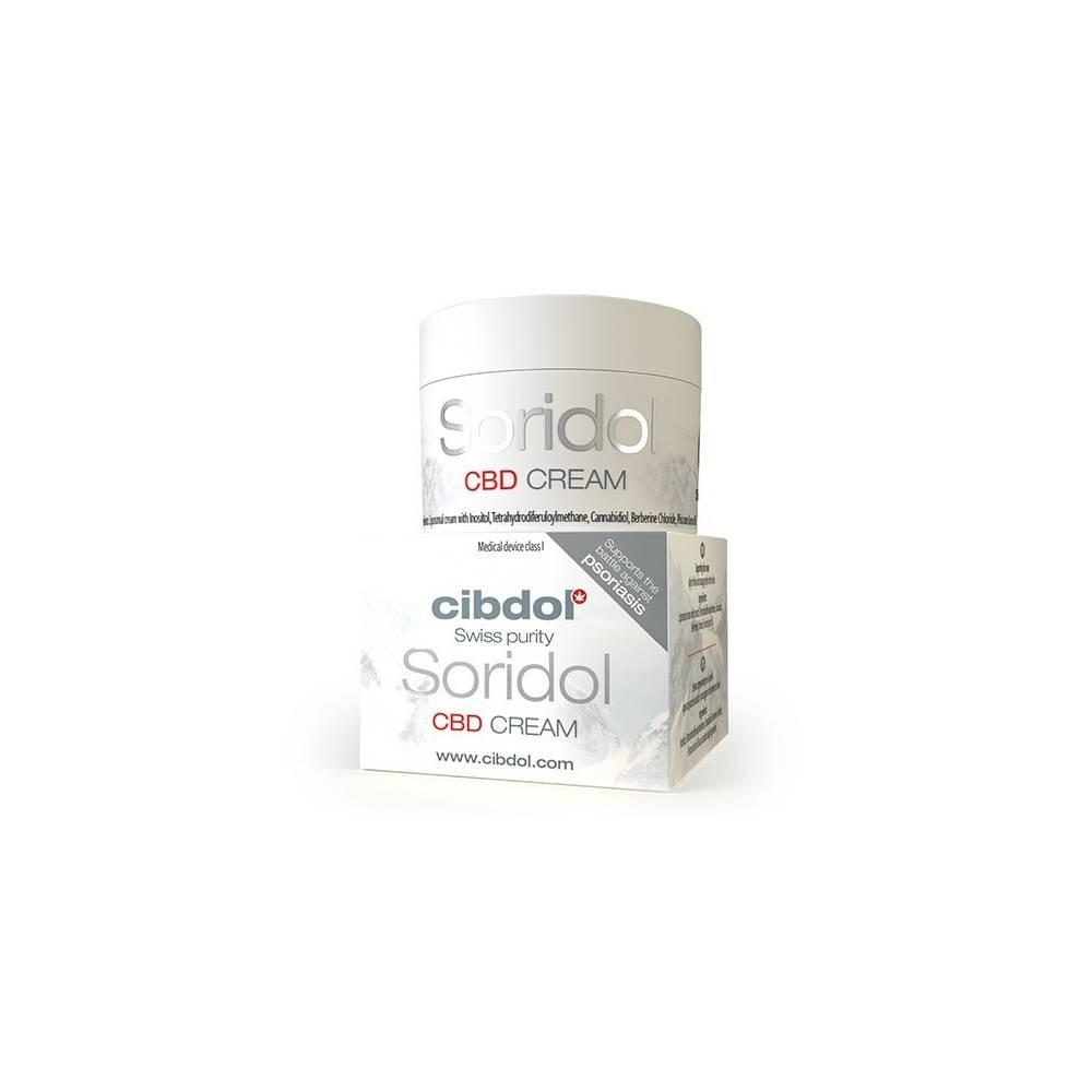 Crème Soridol (50ml) - Cibdol
