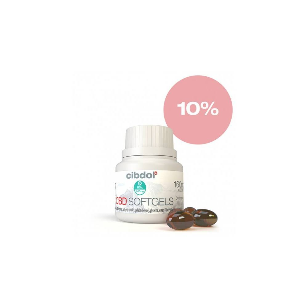 Gélules Cibdol CBD 10% (x60)