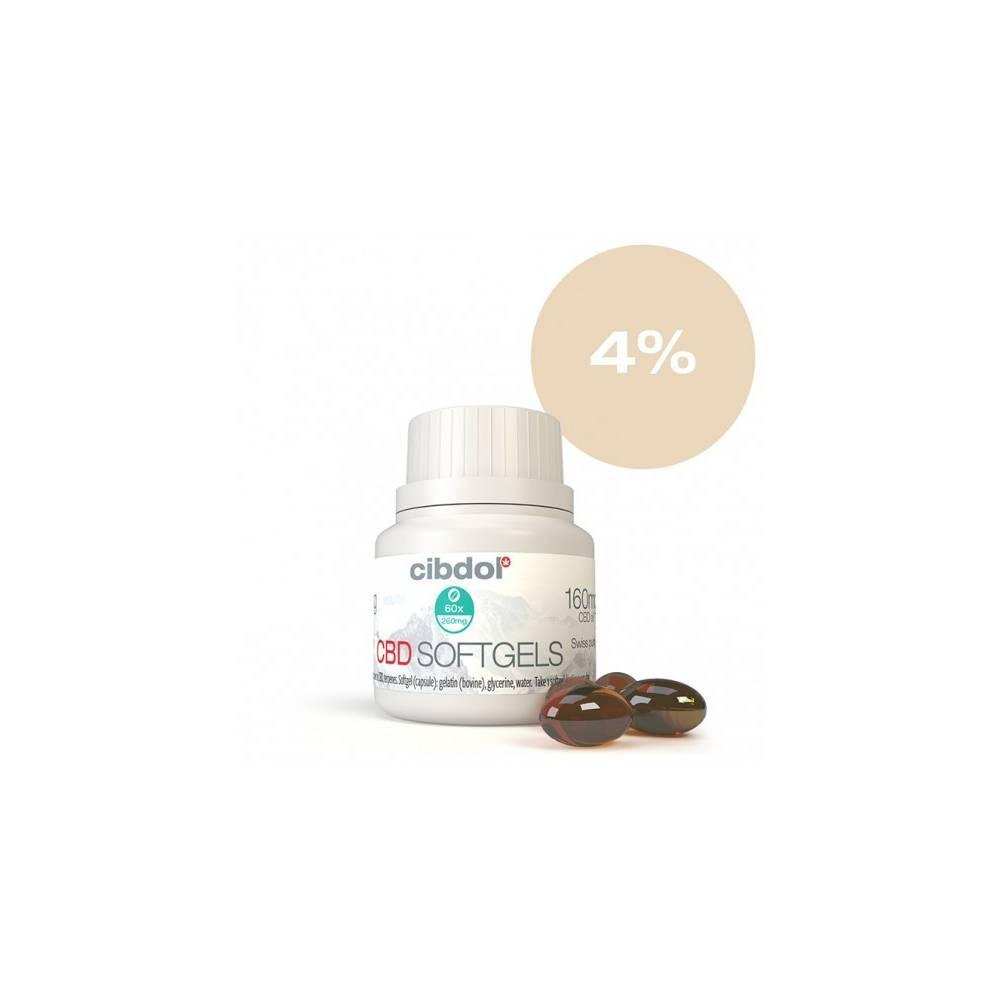 Gellule Cibdol CBD 4% (x60)